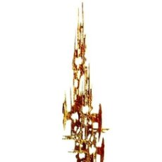 Arte: JOSEP BARCELÓ - COMPOSICIÓN, ESCULTURA EN BRONCE. Lote 130861864