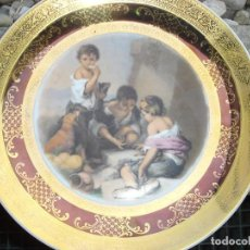 Arte: PRECIOSO PLATO EN PORCELANA CREO DE SEVRES PERO NO SEGURO DESCONOZCO LA MARCA. Lote 131395510