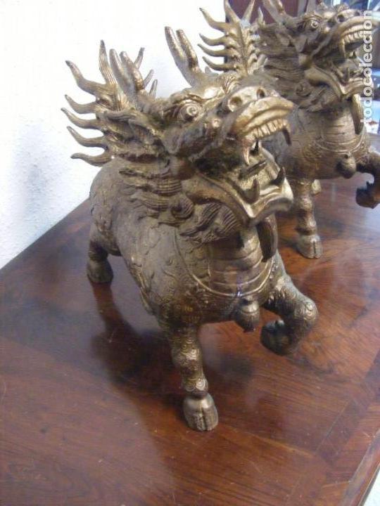 Arte: Pareja de furias chinas - Foto 5 - 28511476
