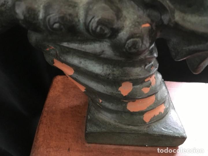 Arte: ESPECTACULAR escultura SAN JORGE Y EL DRAGON DE FIDEL AGUILAR MARCÓ (1894-1917) SANT JORDI - Foto 6 - 132073274