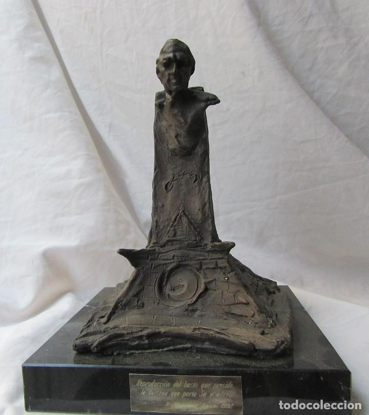ESCULTURA EN BRONCE DE LA DÁRSENA DE DON JUAN DE BORBÓN (Arte - Escultura - Bronce)