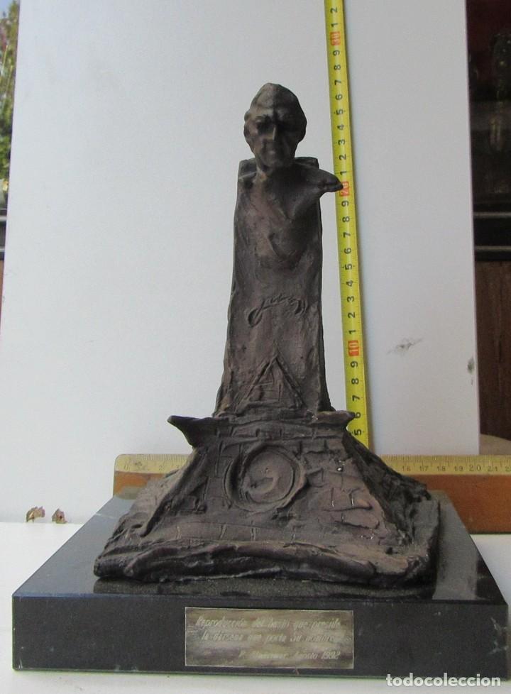 Arte: ESCULTURA EN BRONCE DE LA DÁRSENA DE DON JUAN DE BORBÓN - Foto 2 - 132498970