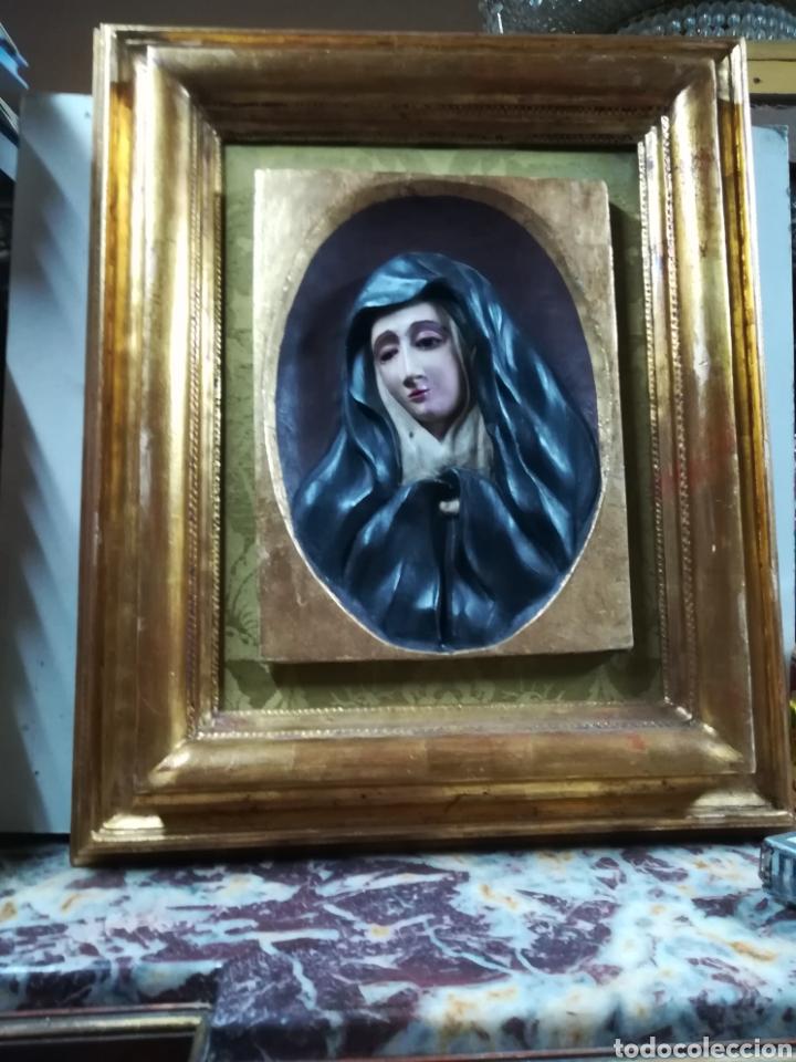 Arte: Talla en relieve de la piedad XVIII - Foto 2 - 133049183