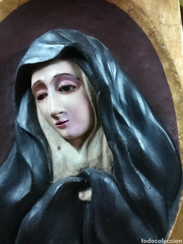 Arte: Talla en relieve de la piedad XVIII - Foto 4 - 133049183