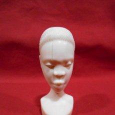 Arte: PRECIOSA FIGURA - BUSTO DE MUJER AFRICANA DE MARFIL -. Lote 133154610