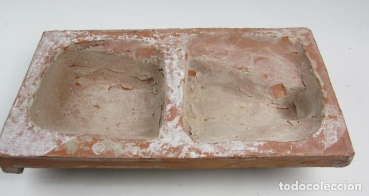 Arte: Bajo relieve en terracota atribuido a Enric Monjo, 35x19cm - Foto 4 - 133194082