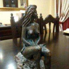 Arte: ESCULTURA FEMENINA DE MIQUEL SENSERRICH. Lote 133233070