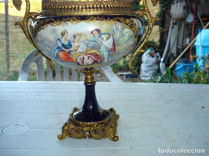 Arte: muy muy bonita guarnicion en porcelana de Sevres ver fotos de coleccion - Foto 2 - 133509654