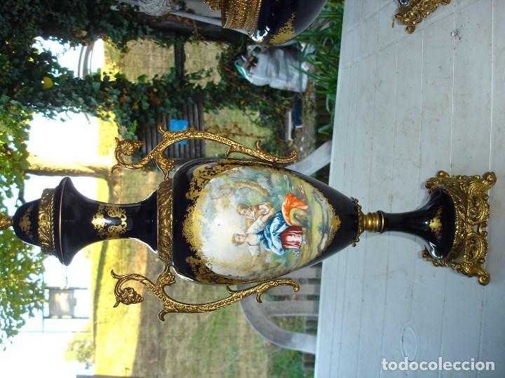 Arte: muy muy bonita guarnicion en porcelana de Sevres ver fotos de coleccion - Foto 7 - 133509654