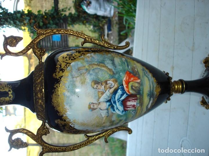 Arte: muy muy bonita guarnicion en porcelana de Sevres ver fotos de coleccion - Foto 8 - 133509654