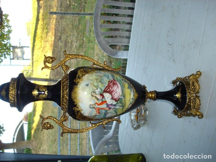 Arte: muy muy bonita guarnicion en porcelana de Sevres ver fotos de coleccion - Foto 10 - 133509654