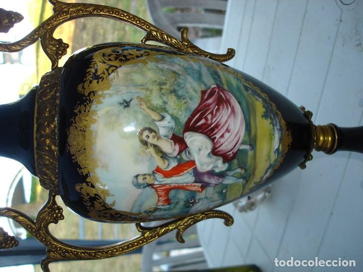Arte: muy muy bonita guarnicion en porcelana de Sevres ver fotos de coleccion - Foto 11 - 133509654