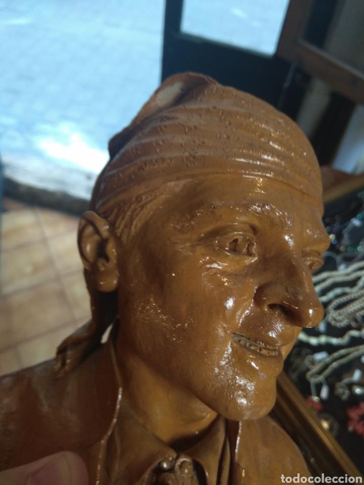 Arte: Busto Valenciano Terracota - Antonio Cortina Farinos 1890 - Firmado y Dedicado - Foto 15 - 133855789
