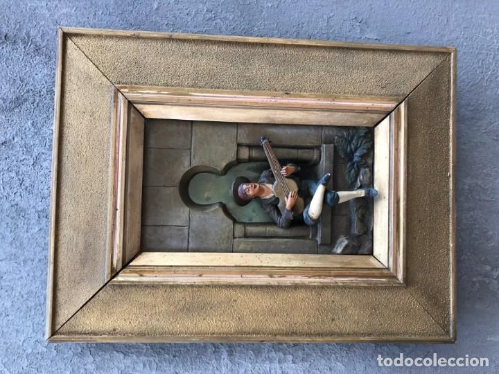 Arte: magnifica pareja de terracotas granadinas - Foto 2 - 134120770