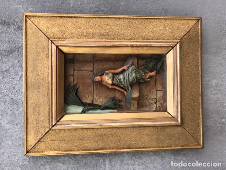 Arte: magnifica pareja de terracotas granadinas - Foto 20 - 134120770