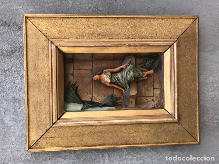 Arte: magnifica pareja de terracotas granadinas - Foto 22 - 134120770