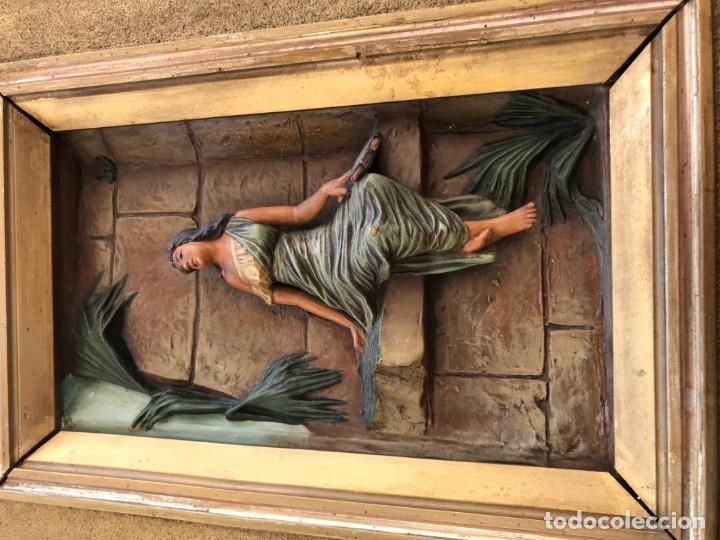 Arte: magnifica pareja de terracotas granadinas - Foto 24 - 134120770