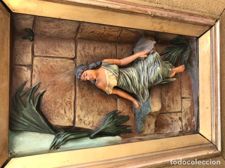 Arte: magnifica pareja de terracotas granadinas - Foto 25 - 134120770