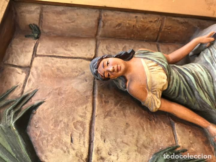 Arte: magnifica pareja de terracotas granadinas - Foto 27 - 134120770