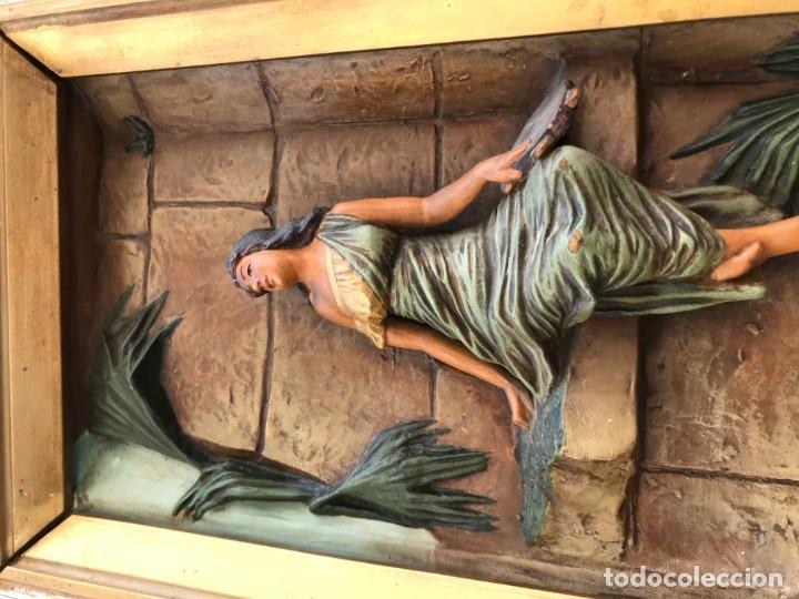Arte: magnifica pareja de terracotas granadinas - Foto 30 - 134120770
