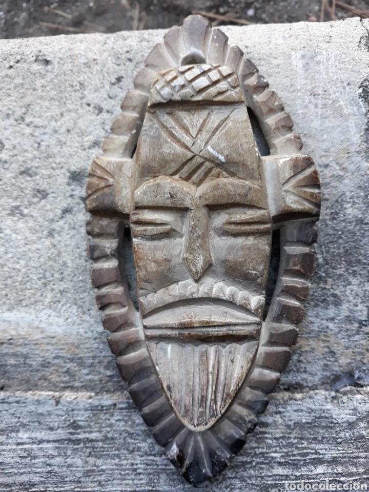 MÁSCARA PIEDRA TALLADA (Arte - Escultura - Piedra)