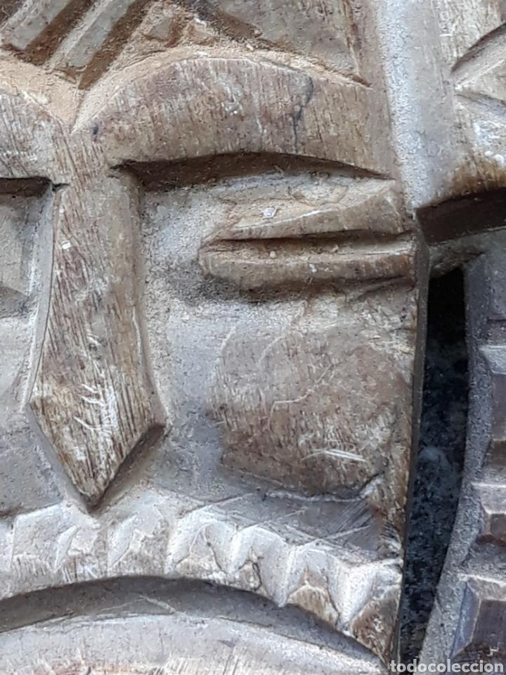 Arte: Máscara piedra tallada - Foto 2 - 134910825