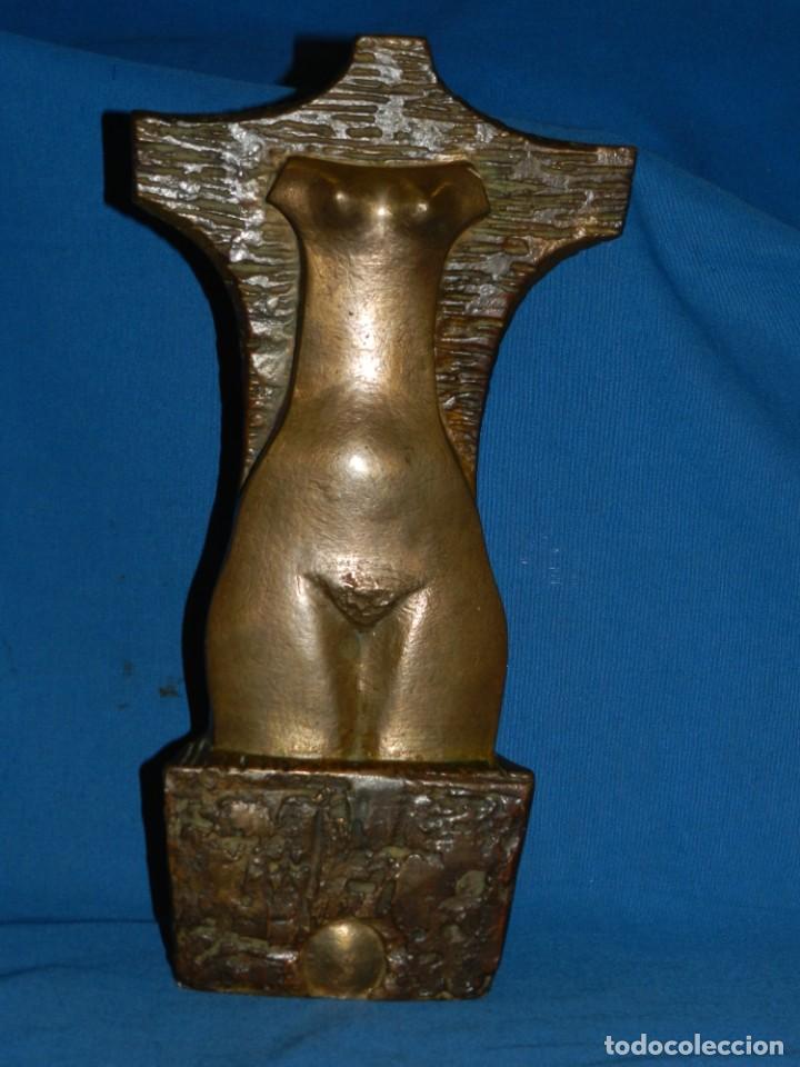 (M) ESCULTURA DE BRONCE DE JOSEP MARTI SABE - 78 - 1/8 - 34X18X8 CM. 1915 - 2006 MEMBRE FUNDADOR (Arte - Escultura - Bronce)