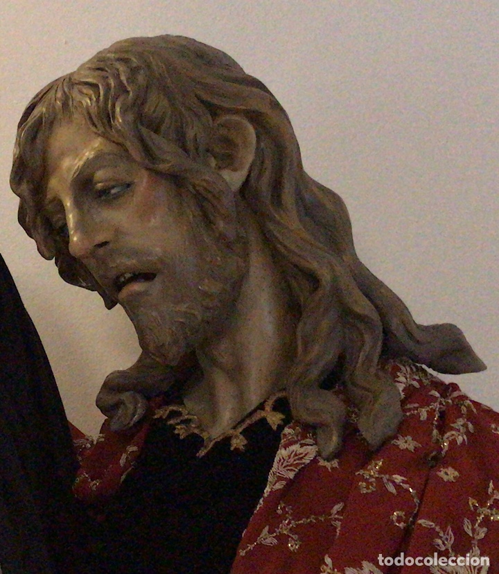 CRISTO, BUSTO CRISTO, BUSTO TAMAÑO NATURAL, SAN JUAN, TALLA, CRISTO TAMAÑO NATURAL, (Arte - Escultura - Terracota )