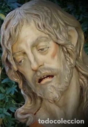 Arte: Cristo, busto Cristo, busto tamaño natural, san Juan, talla, Cristo tamaño natural, - Foto 4 - 136164492