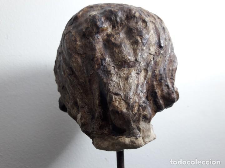 Arte: Cabeza piedra gótica. - Foto 4 - 136362602