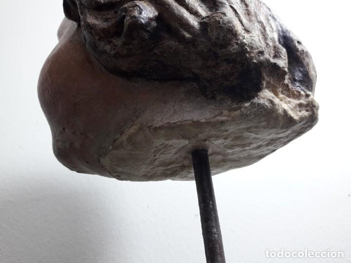 Arte: Cabeza piedra gótica. - Foto 7 - 136362602