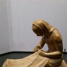 Arte: BRULL PAGÈS - ESCULTOR- TERRACOTA BLANCA -. Lote 136453730
