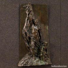 Arte: ESCULTURA ITALIANA FIRMADA Y DATADA 1911. Lote 136661174