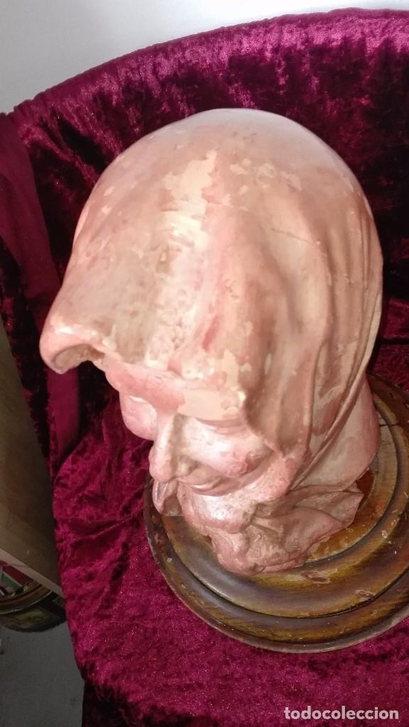 Arte: Preciosa escultura de barro cocido.años 50.Ronda. - Foto 4 - 136710598