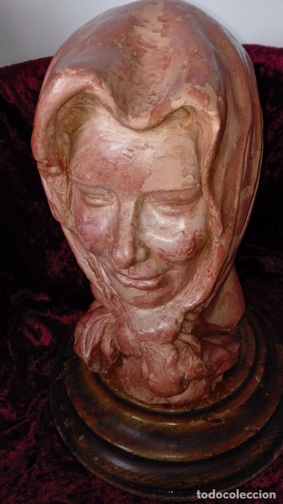 Arte: Preciosa escultura de barro cocido.años 50.Ronda. - Foto 9 - 136710598