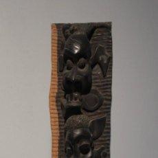 Arte: TALLA AFRICANA EN MADERA (55 CM.). Lote 136807986