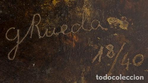 Arte: GERARDO RUEDA . Bodegón frontal . Bronce patinado . Firmado y fechado 1993 - Foto 4 - 46760839