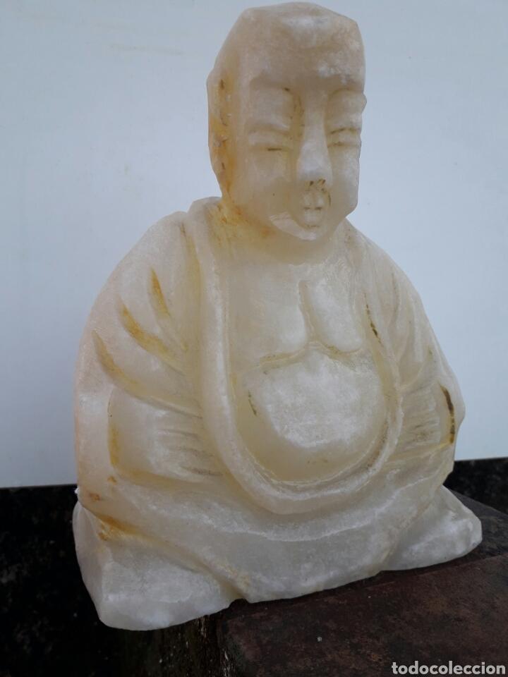 Arte: Estatuilla de BUDA en alabastro - Foto 2 - 137948684