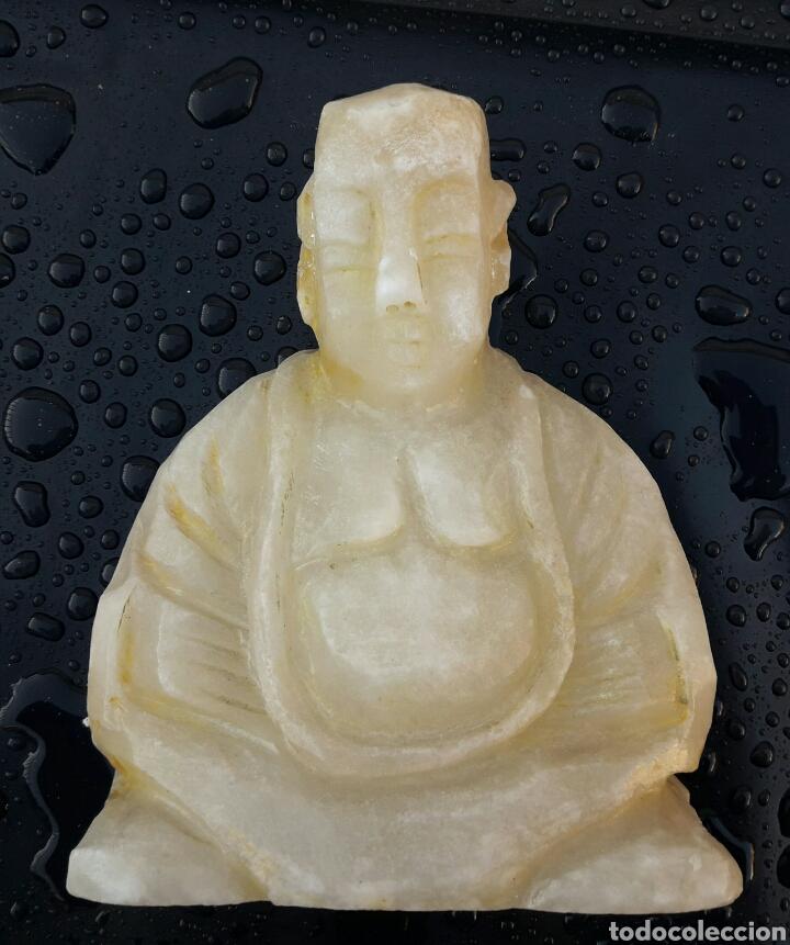 Arte: Estatuilla de BUDA en alabastro - Foto 3 - 137948684