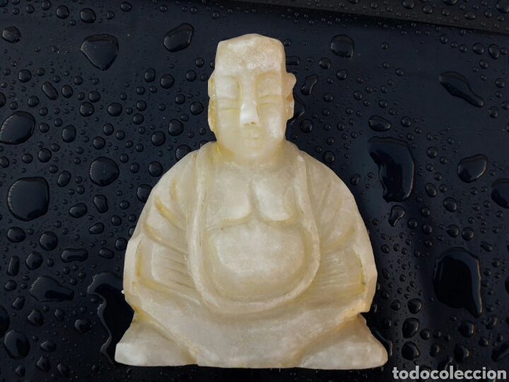 Arte: Estatuilla de BUDA en alabastro - Foto 4 - 137948684