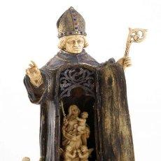 Arte: FIGURA RELIGIOSA OBISPO . Lote 138565718