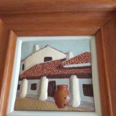 Arte: CERÁMICA ESMALTADA FIRMADA . Lote 138617390