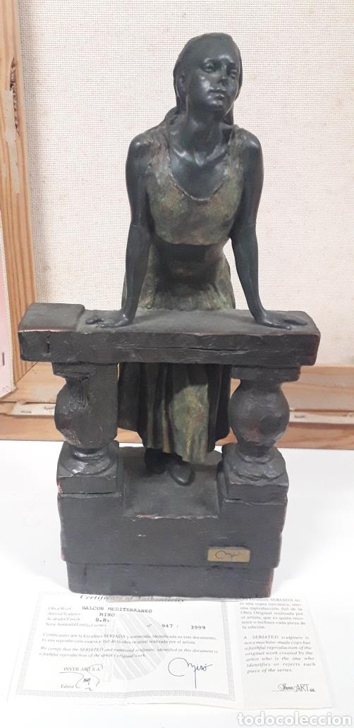 ESCULTURA BALCÓN DEL MEDITERRANEO MIRO (Arte - Escultura - Hierro)