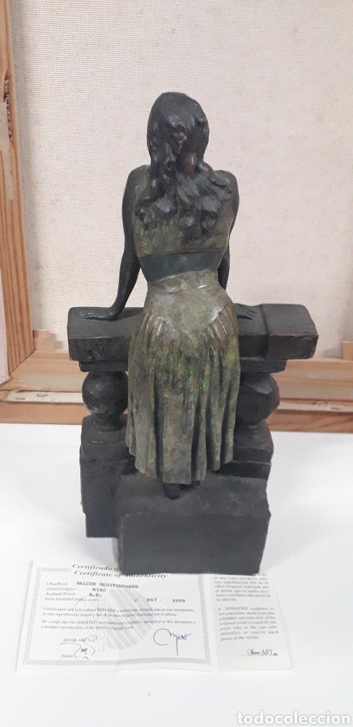 Arte: Escultura Balcón del Mediterraneo Miro - Foto 2 - 138690520