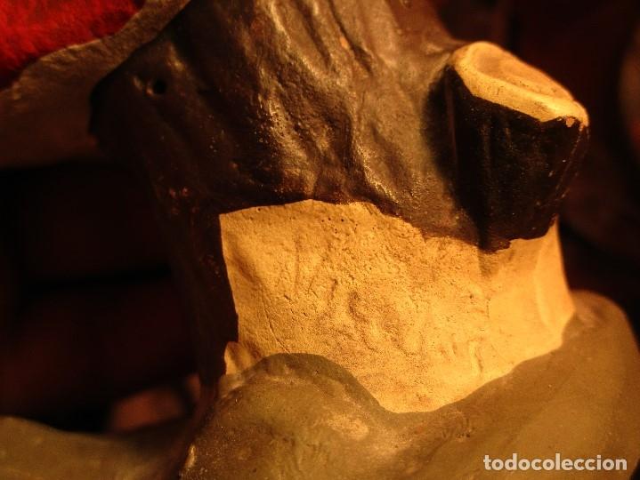Arte: ESCULTURA firma quizas, NICOLAS ? terracota laboratorios D. ESTEVE - Foto 13 - 58982045
