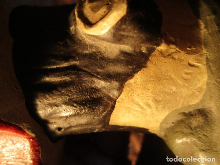 Arte: ESCULTURA firma quizas, NICOLAS ? terracota laboratorios D. ESTEVE - Foto 19 - 58982045