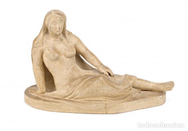 ESCULTURA EN TERRACOTA DE MARTÍ LLAURADÓ, FIRMADA. 1933 (Kunst - Skulpturen - Terrakotta)