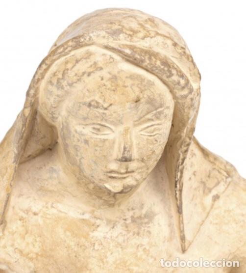 Kunst: Escultura en terracota de Martí Llauradó, firmada. 1933 - Foto 2 - 140401422