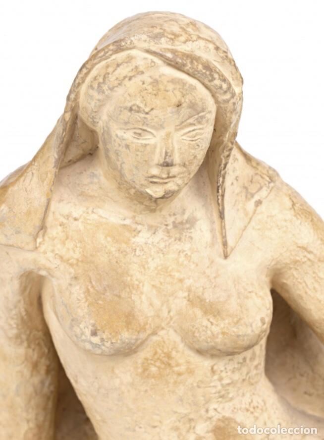 Kunst: Escultura en terracota de Martí Llauradó, firmada. 1933 - Foto 5 - 140401422