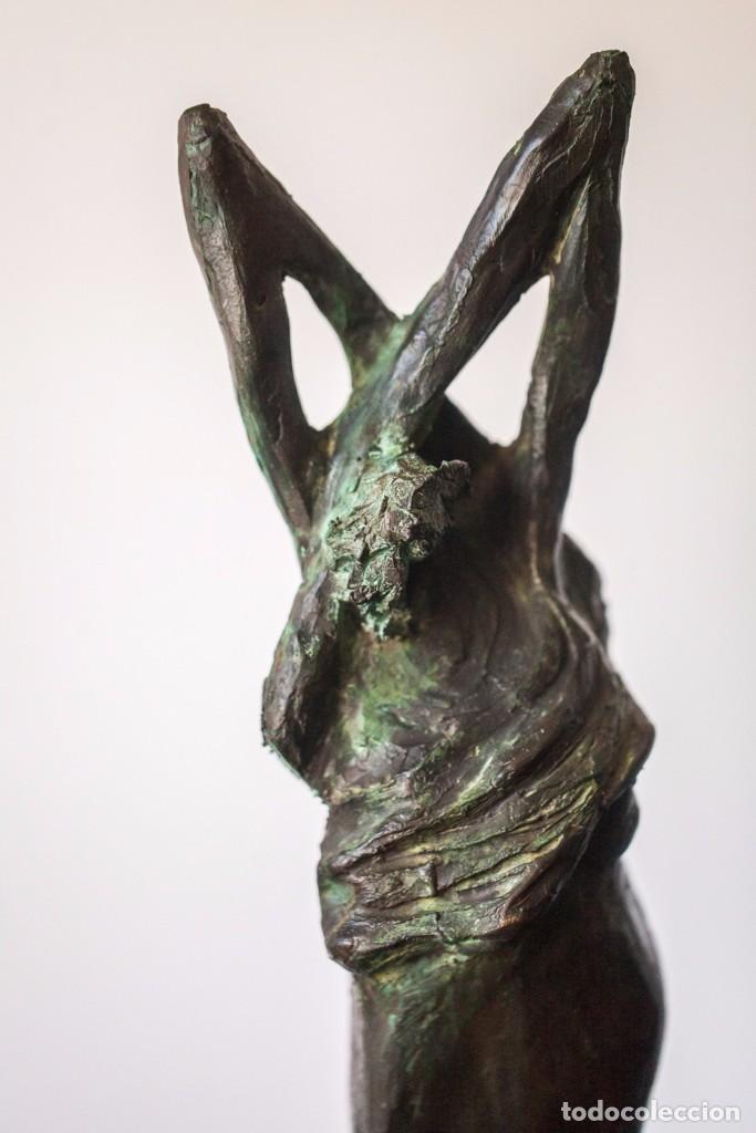 NILO MANRIQUE ESCULTURA EN BRONCE (CUBA 1969) (Arte - Escultura - Bronce)